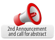 2nd Announcement and call for abstract